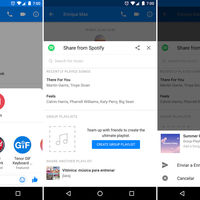 Cómo crear playlists colaborativas de Spotify con Facebook Messenger