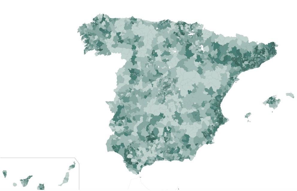 Más del 90% se ha quedado en su zona: el INE publica su análisis de movilidad a partir de la posición de los teléfonos móviles