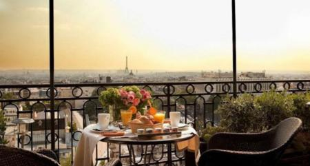 Desayuno en París