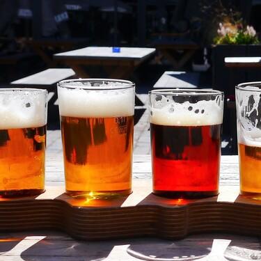 ¿Cuántas calorías tiene una cerveza? Infografía