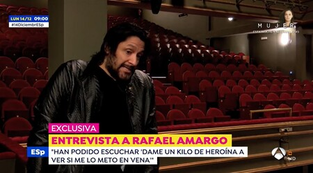 Espejo Publico Rafael Amargo