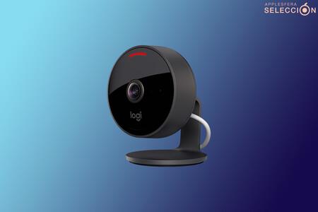 La cámara de videovigilancia Logitech Circle View 2 compatible con HomeKit está más barata en Macnificos: 135,99 euros