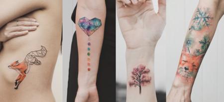 Todo es pura geometría... Incluso estos increíbles tatuajes