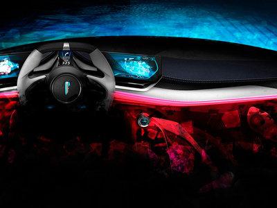 Pininfarina tendrá un hipercoche eléctrico de 2,000 hp, así luce su interior