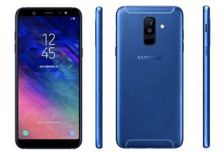 Samsung Galaxy A6 y A6+: imágenes y características filtradas de la nueva gama media con pantalla SuperAMOLED