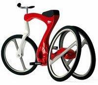 Bicicleta o triciclo, un diseño espectacular