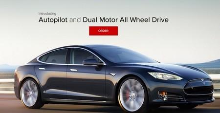 El Tesla Model S P85D con tracción integral sale a luz