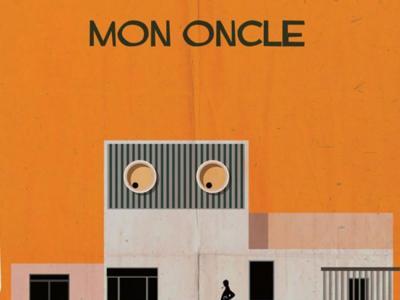 Federico Babina ilustra los edificios de películas emblemáticas en Archicine