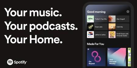 Spotify renueva (por fin) su aplicación en iOS y Android con nuevo 'Home', atajos y recomendaciones personalizadas
