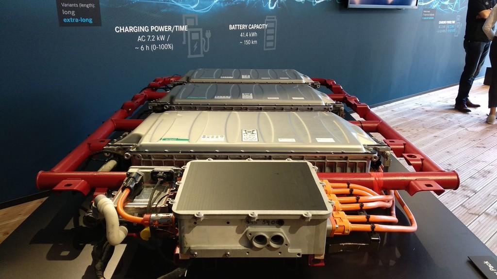 Las baterías de las eVito y eSprinter de Mercedes