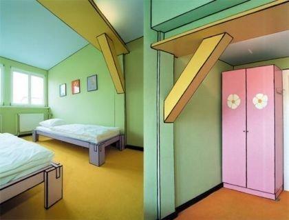 Arte Luise Kunsthotel, habitaciones con estilo