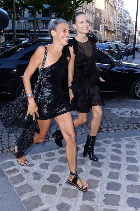Isabel Marant y Natasha Poly