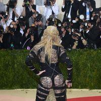Madonna en la Gala MET