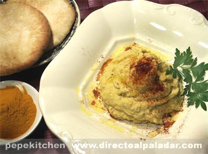 Hummus de Garbanzos con Thermomix. Receta
