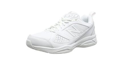 Desde 35,23 euros tenemos estas  zapatillas New Balance 624AW4 en color blanco en Amazon con envío gratis