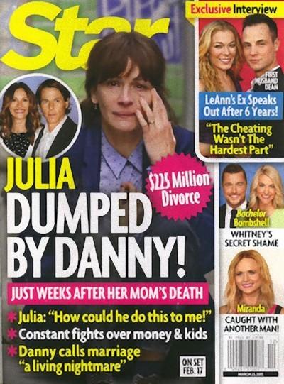 Julia Roberts, estás irreconocible