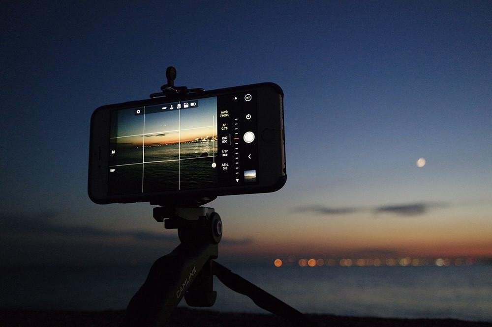 Las mejores aplicaciones móviles Android e iOS para fotógrafos (I): Captura de imágenes