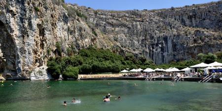 Lago Vouliagmeni Atenas