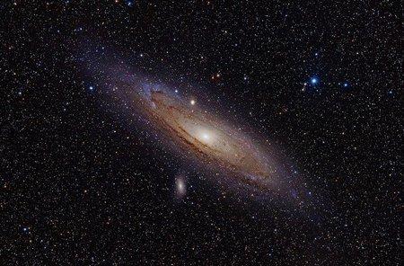 Si el universo se expande ¿por qué hay colisiones entre galaxias?