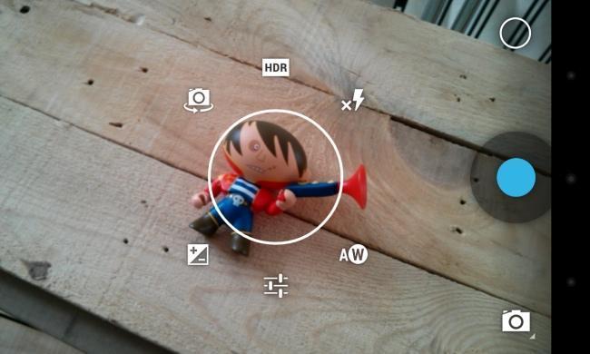 Interfaz fotografía Android 4.2