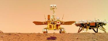 El rover chino Zhurong envía sonidos e imágenes de Marte a la Tierra: así suena el vehículo moviéndose por el planeta rojo