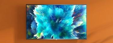 El televisor 4K de Xiaomi, con Android TV, a precio de chollo hoy en PcComponentes: Mi TV 4S en oferta por 299 euros