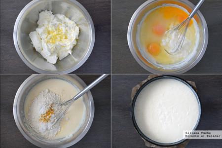 Tarta de Yogur y Limon. Pasos