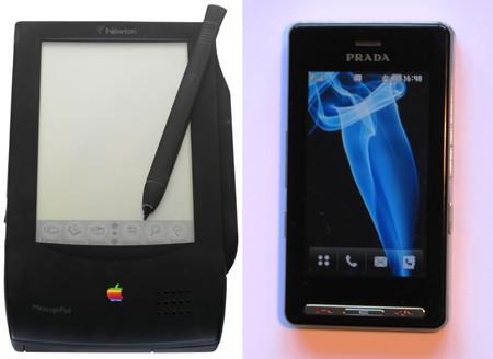 Apple Newton Pda Y Lg Prada