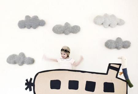 Pon unas nubes en tu casa, hazlas tú mismo o cómpralas