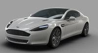 Aston Martin Rapide, nuevas imágenes oficiales