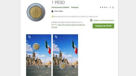 La aplicación de un peso, que vale cinco y que no hace nada, es desarrollada en México y es un éxito