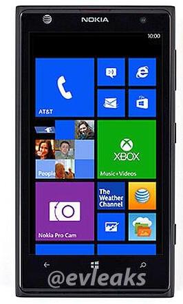 Nokia Lumia 1020 o 909, antes conocido como EOS, nos enseña su frontal