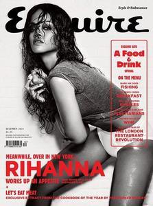 ¡Al rico despelote de Rihanna en Esquire!