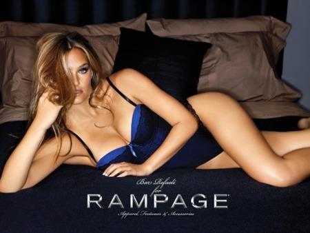 Bar Refaeli como imagen de Rampage ¿mejor que Gisele Bundchen?