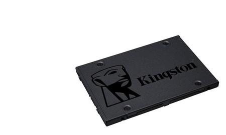 Para dar una segunda oportunidad a tu viejo ordenador, hoy, el Kingston A400 SSD de 480 GB sólo cuesta 75 euros en MediaMarkt