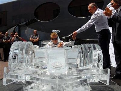 Iceman en Mónaco