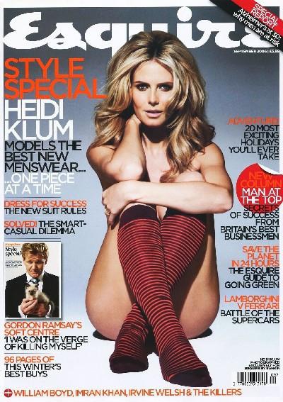 Heidi Klum desnuda o casi