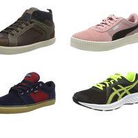 Ofertas en tallas sueltas de zapatillas Geox, Lacoste, Puma o Asics por menos de 35 euros en Amazon