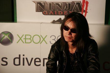 Asistimos a la presentación de 'Ninja Gaiden II' de manos del maestro Itagaki