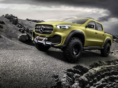 Mercedes-Benz Clase X Concept, ¿sigues pensando que una pick-up premium es mala idea?