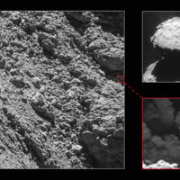 Rosetta encuentra y fotografía a su compañero Philae a unos días de que termine la misión