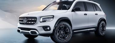 Mercedes-Benz GLB Concept: un concepto de look robusto que adelanta un poco del modelo definitivo
