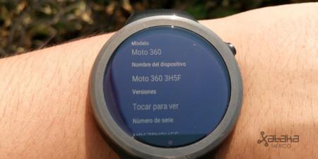 Moto 360 Version