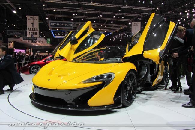 McLaren P1 frontal Ginebra 2013