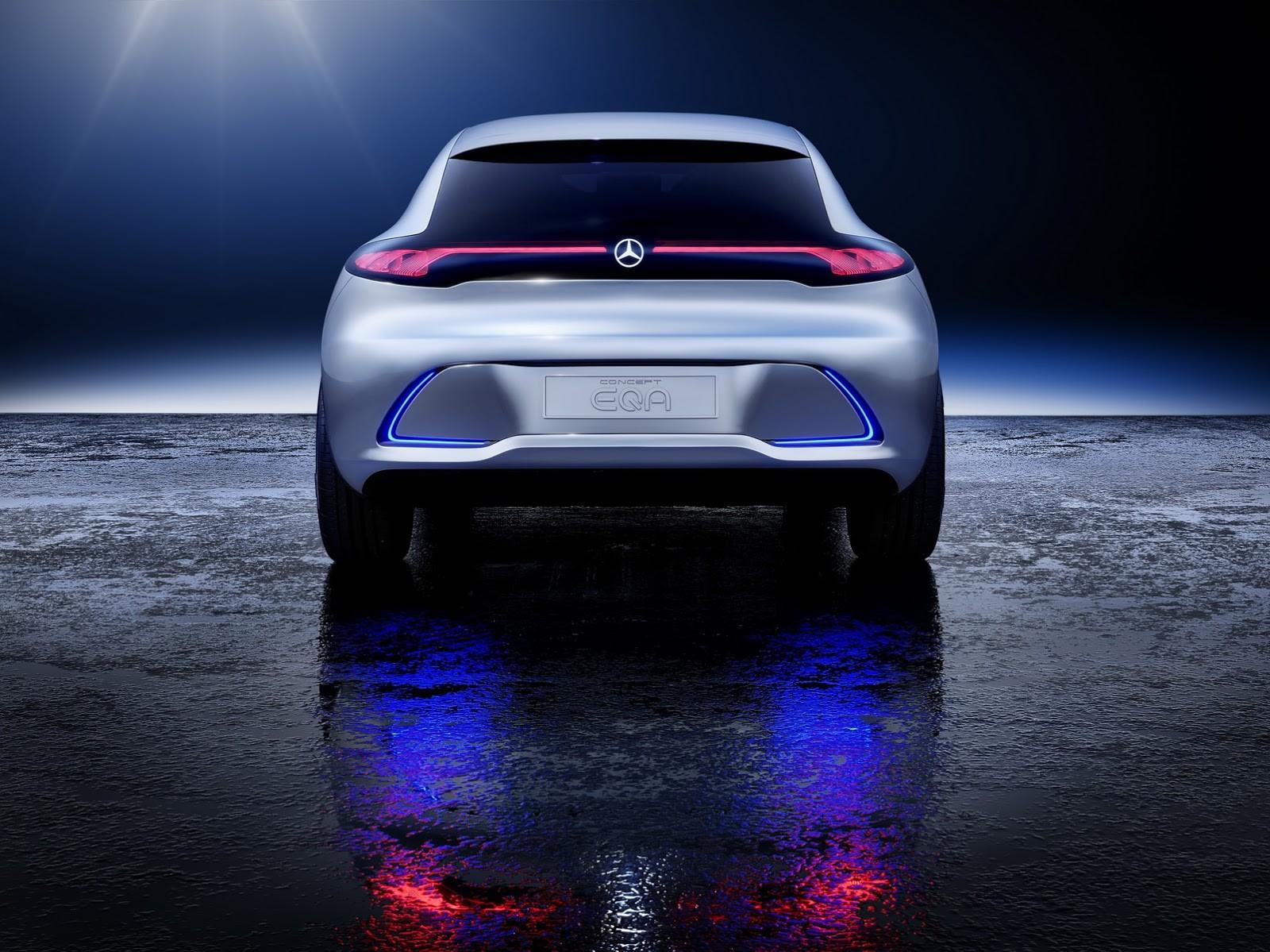Foto de Mercedes-Benz EQ A Concept (2/15)