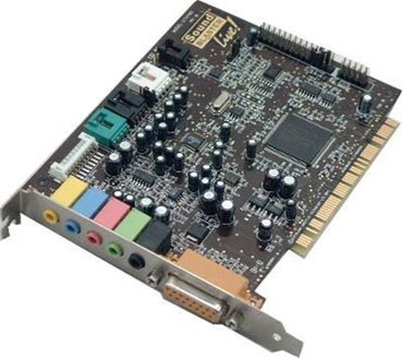 Tarjeta de sonido PCI Creative Live! 5.1