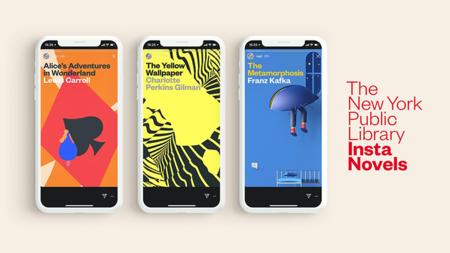 Insta Novels, la biblioteca pública de Nueva York está llevando clásicos de la literatura a Instagram Stories