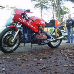 Foto 2 de 6 de la galería moto-con-motor-4-cilindros-alfa-romeo en Motorpasion Moto