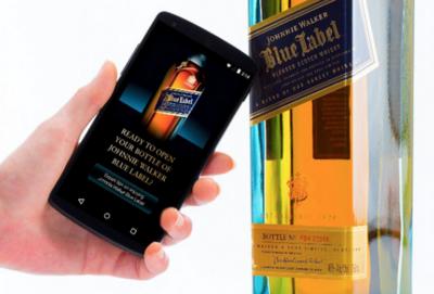 Que ese whisky escocés es auténtico me lo dice la etiqueta NFC de Thinfilm