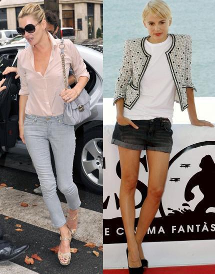 Aprovecha el buen tiempo con looks frescos: copia a Kate Moss y Elena Anaya
